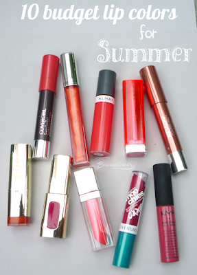 10 budget lip colors for summer