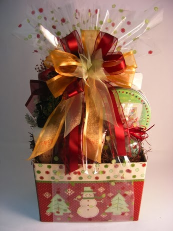 How To Make Professional Looking Gift Baskets & GIFTS THAT SAY WOW - Fun Crafts and Gift Ideas: How To Make ...