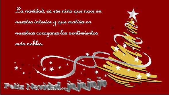 Feliz Navidad con mensaje