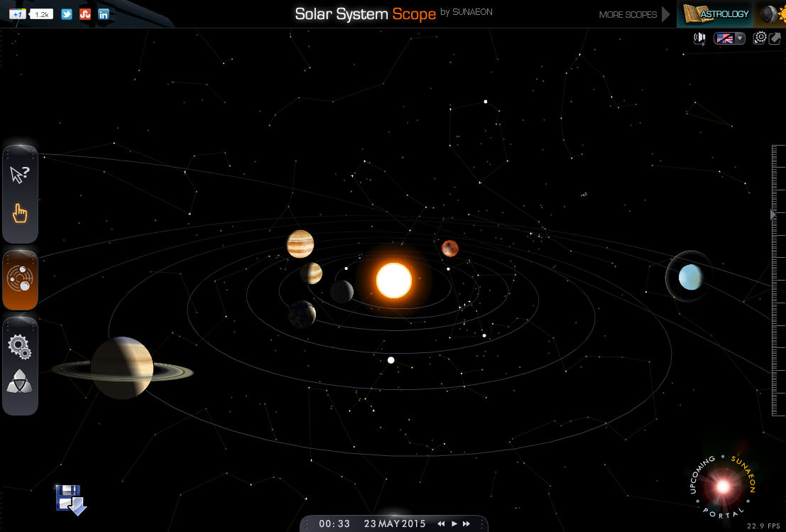 solar system of 3 d - photo #38