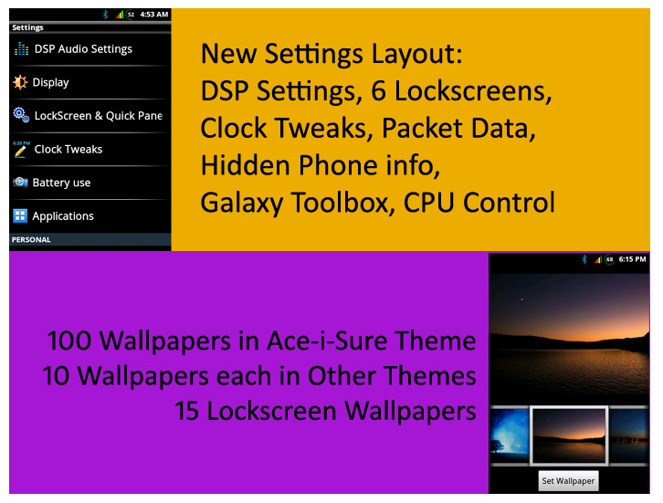 Sure ROM v10.0.0 [AROMA] For Samsung Galaxy Y/GT-S5360