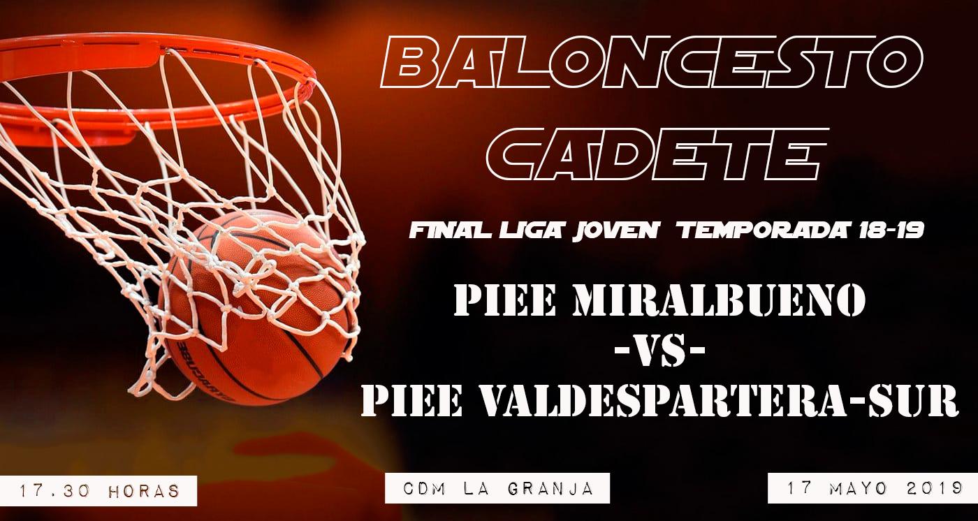 Final Baloncesto Cadete