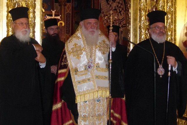 Ο Αρχιεπίσκοπος Ιερώνυμος στο Διδυμότειχο