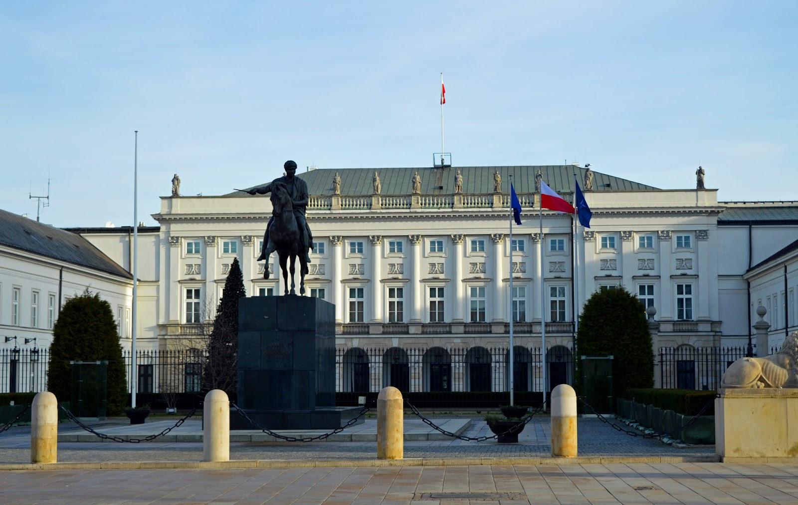 Warszawa Pałac Prezydencki