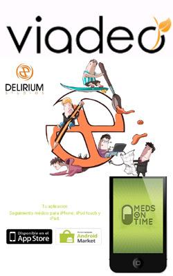 Viadeo.com, Delirium Studios y MedsOnTime