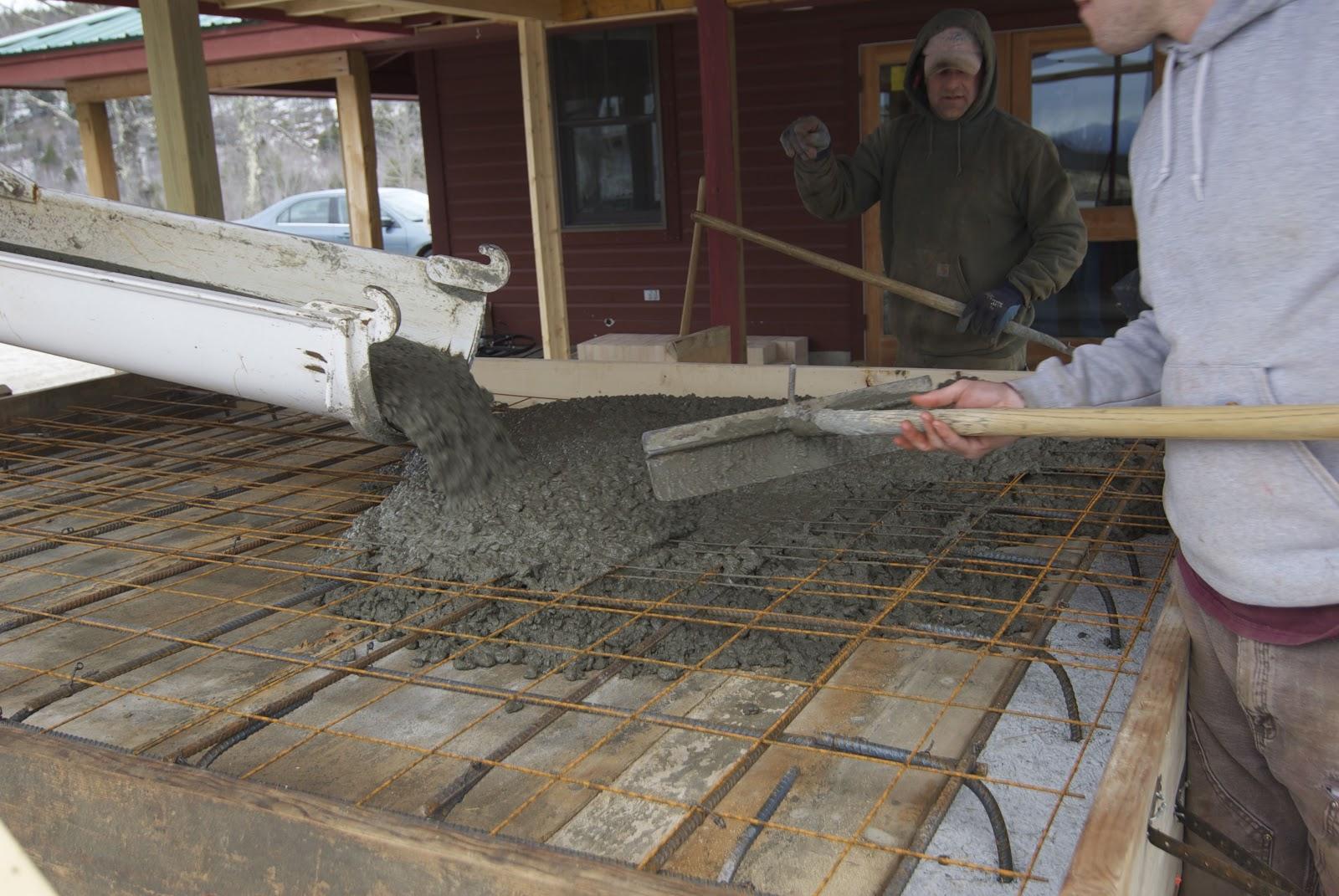 Monolithic Concrete Slab : True brick ovens monolithic pour