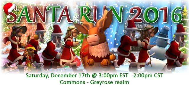 Santa Run (December 17)