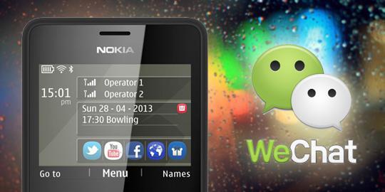 Wechat merupakan aplikasi chatting baru besutan tencent yang siap