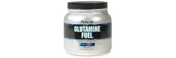 glutamina en polvo
