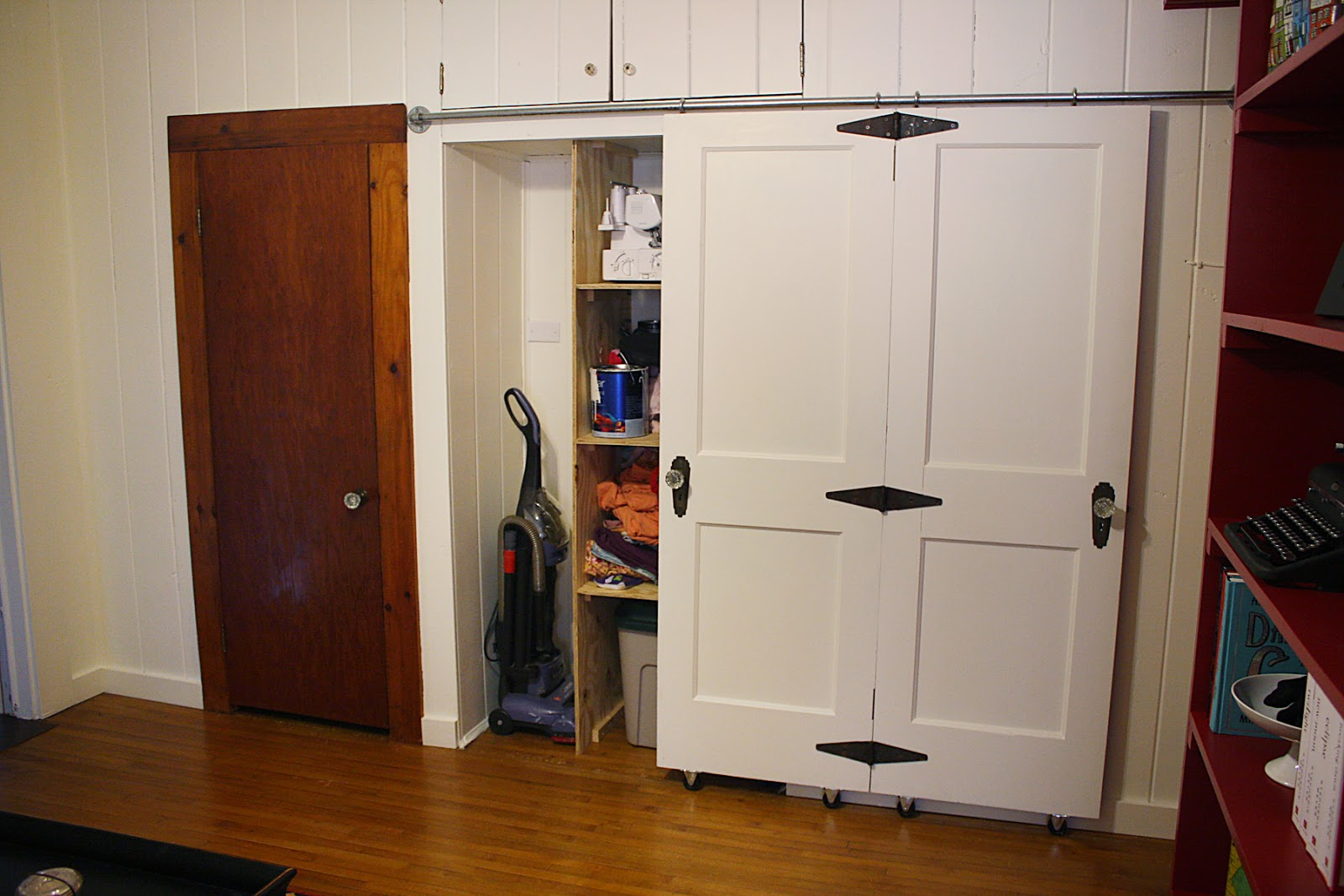 Black Closet Doors Buy Ft Bypass Sliding Barn Wood Door
