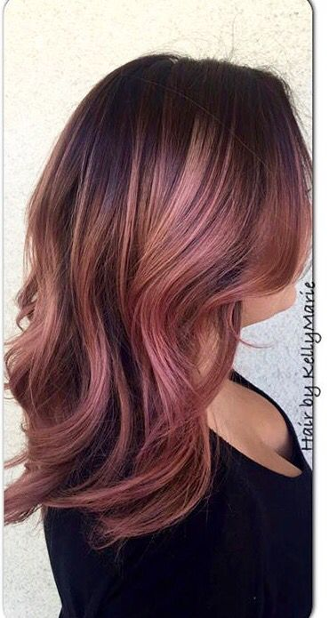 Stunning Rose Gold Hair Ideas!!! - The HairCut Web
