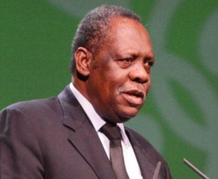El presidente de la Confederación Africana de Fútbol (CAF), Issa Hayatou