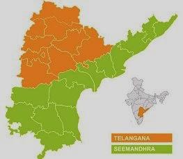 Bifurcation, Reorganisation of AP-Formation of Telangana