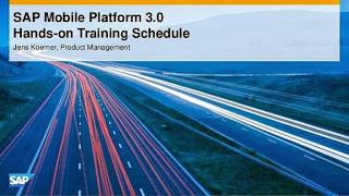 SAP Mobile Platform 3.0