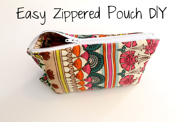 Punk Projects Easy Zippered Pouch Diy