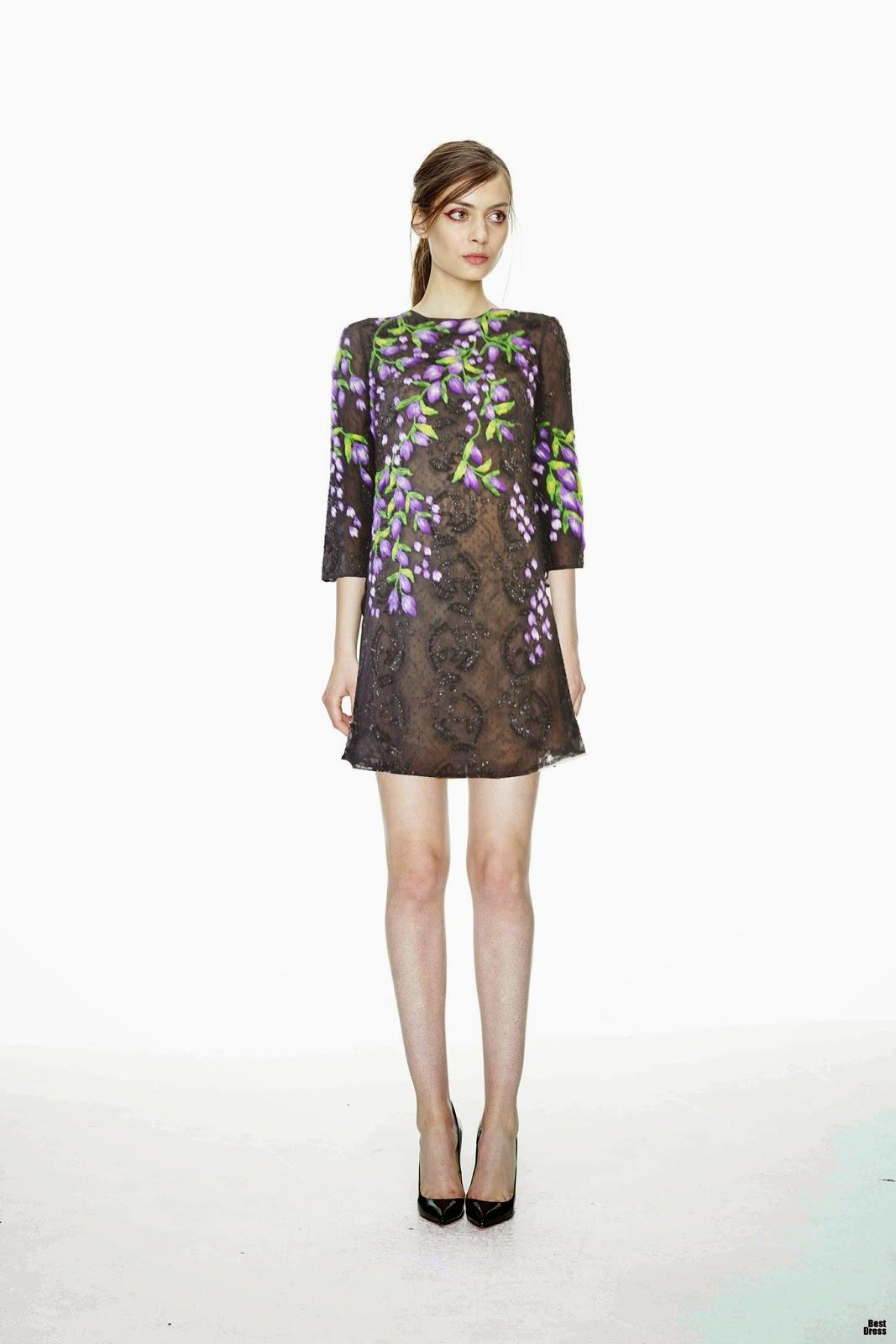 Vestidos de primavera Colección 2015   Moda y Vestidos 2015