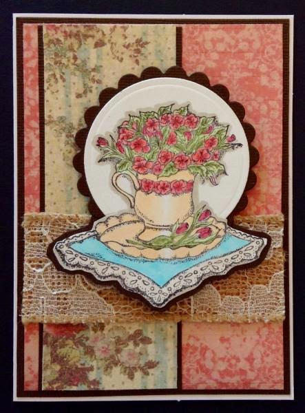 ODBD Birthday Blessings, Card Designer Barbara Pace