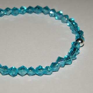 Bratara elastica bleu