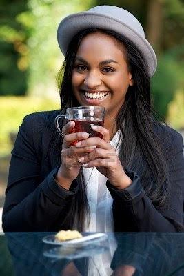 African American Drinking Artificial Sweetener