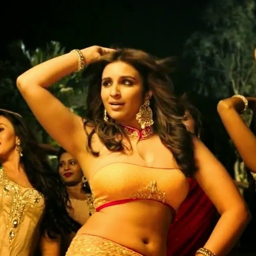 Parineeti Chopra navel in Kill Dil Song