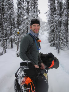 Aaron Fanetti on the Iditarod Trail
