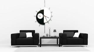 Por último un reloj de pared moderno de gran belleza de la empresa artesanal  marimon