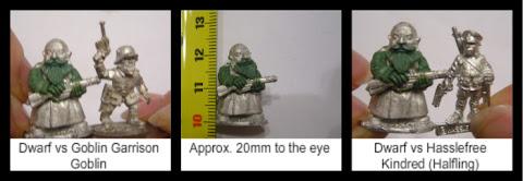 Size Comparison against other WW1 Fantasy Figures
