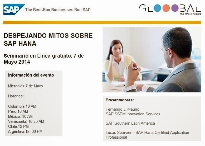 Mitos de SAP HANA