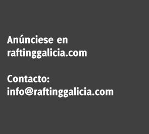Publicidade Rafting río Ulla