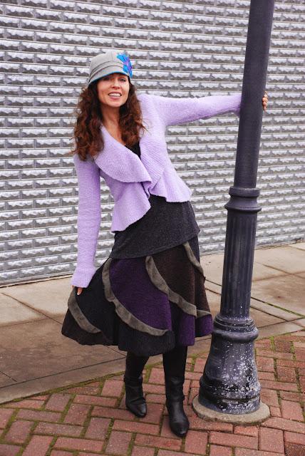 rufflerskirtSF3s - Fuzzy Ruffle Skirt Perfect for Winter