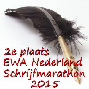 EWA Schrijfmarathon 2015 - 2e plaats