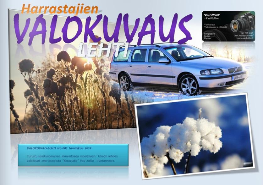 VALOKUVAUS-LEHTI 2014/01