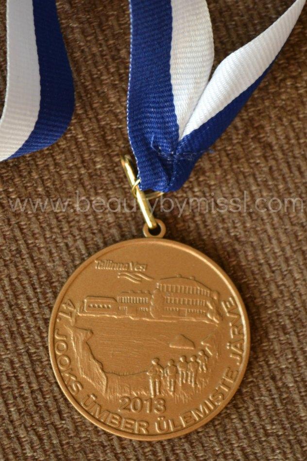 Ülemiste järvejooksu medal 2013