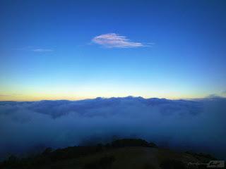 nube en la cumbre