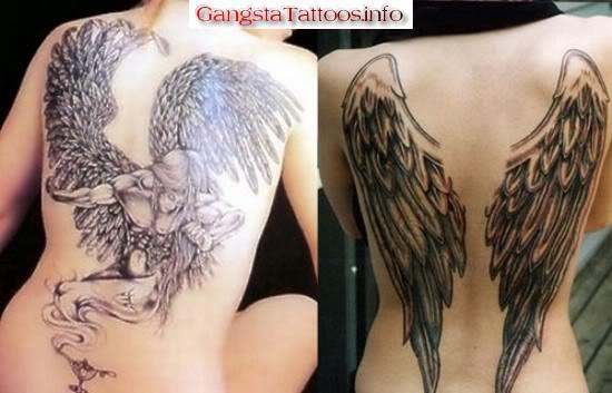 fallen angel tattoo. Fallen Angel Tattoo 1
