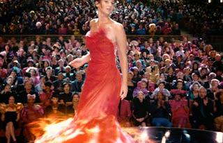 The beautiful Katniss Everdeen and the handsome Peeta Mellark of Hunger Games.