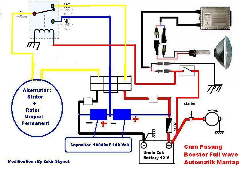 Solusi battery cara mudah membuat booster kiprok pengisian aki cara pasang aplikasi sistem automatik hid on booster on asfbconference2016 Images