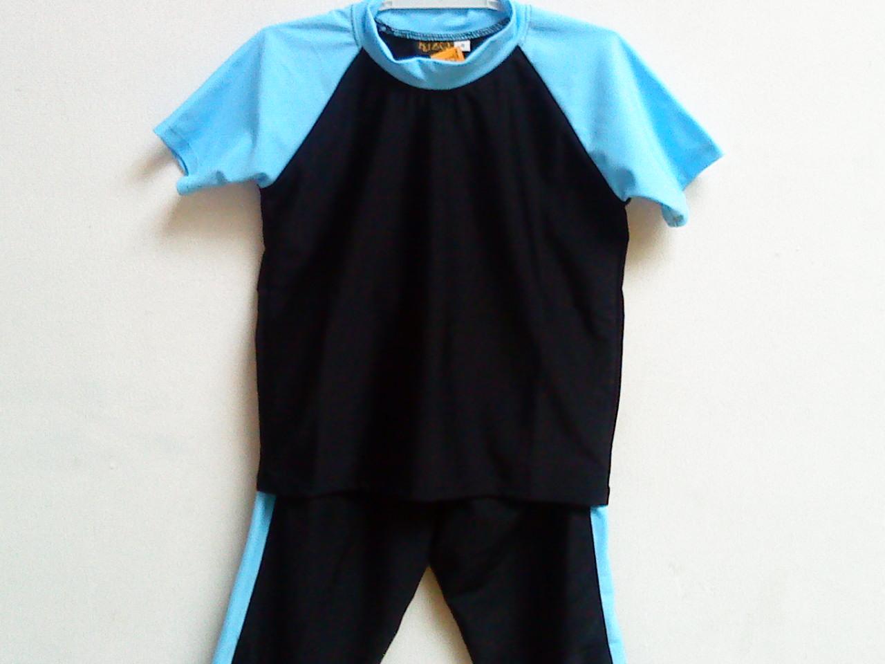 Anugrah Busana Muslim: Baju Renang Anak Laki-Laki. Kode