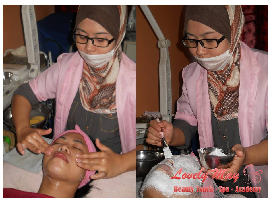 BEAUTICIAN COURSE - Student Ms Noraliza