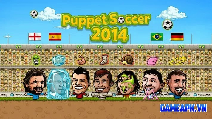 Tải Puppet Soccer 2014 v1.0.08 Mod cho Android