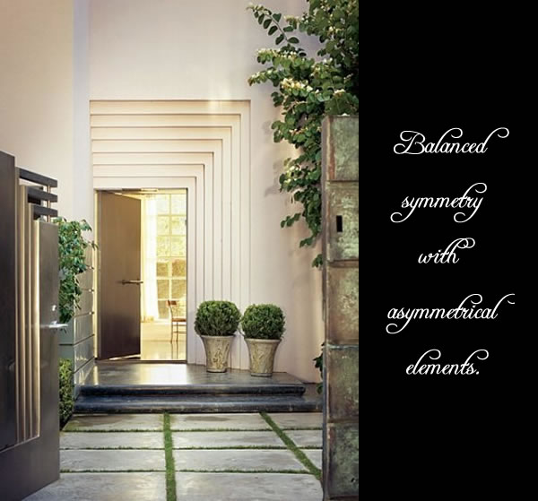 Fabulous Front Doors :: Pot plants used differently — GLAMOUR DROPS