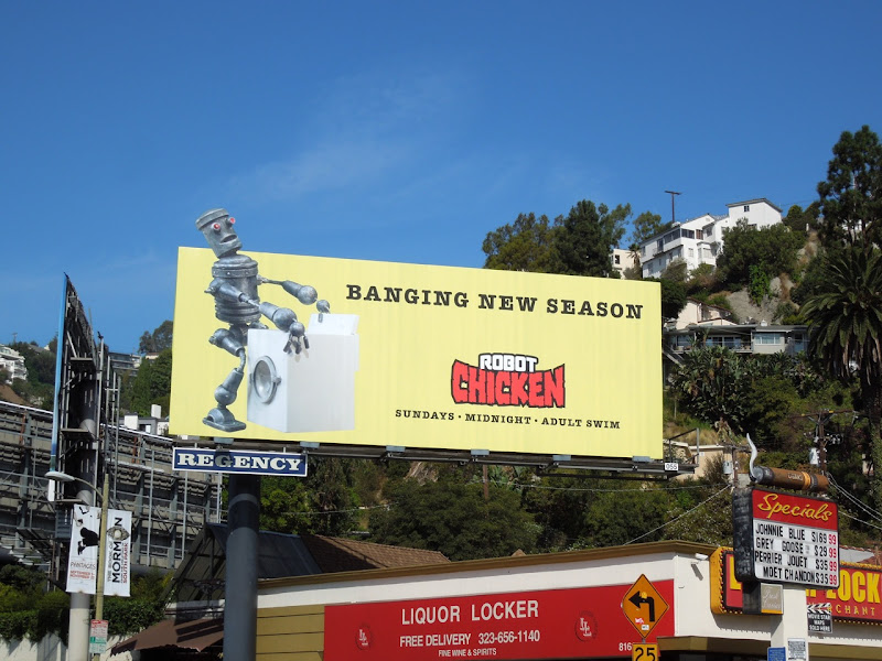 Robot Chicken season 6 billboard