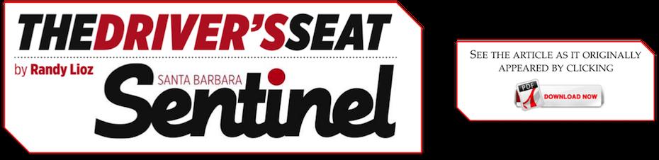 The Driver's Seat - Santa Barbara Sentinel