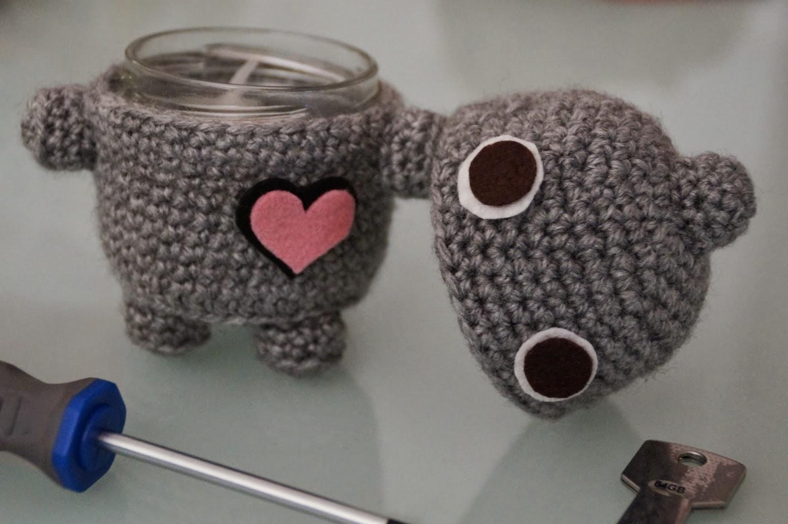 Amigurumi Corazon : Mi mundo de baldosas amarillas: Un robot con corazon ...
