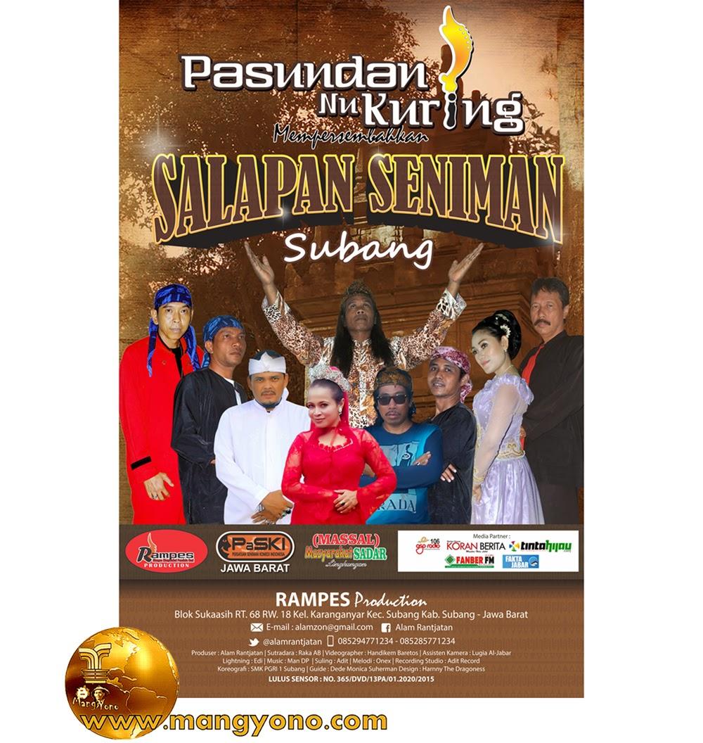 DVD lagu Pop Sunda Album PASUNDAN NU KURING