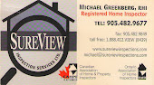 Barrie Home Inspector, Michael Greenberg Sureview Home Inspection Services Barrie in Barrie