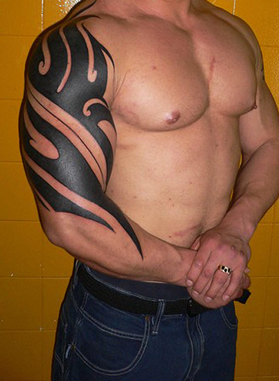 tribal tattoo designs for arms-36