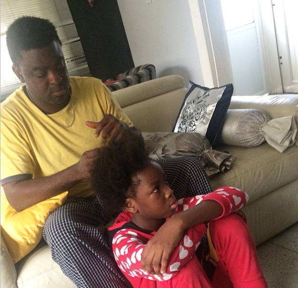 kunle afolayan daughter's hair