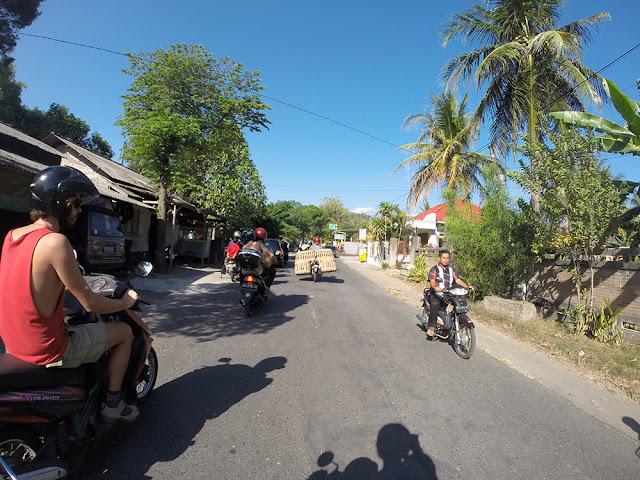 Yogyakarta motorcycling