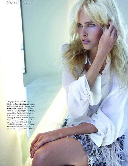 Isabel Lucas Tatler Magazine November 2011